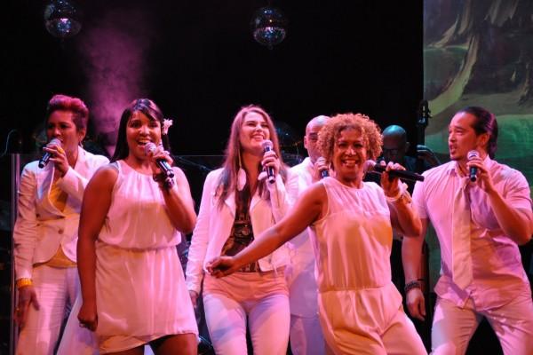 De cast van Soul Christmas